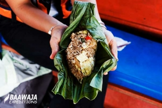 Typical food of the jungle - Juane