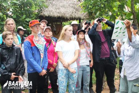Tour for Students Tambopata, Ñape Lodge 5 Days / 4 Nights